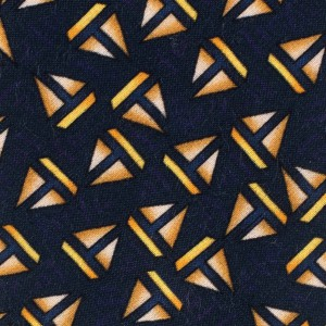 Blue with Sailboat Motif Regular 100% Silk Necktie