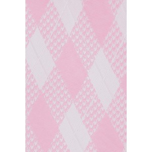 Budding Plaid Pink Silk Necktie