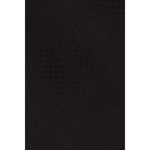 Virtual Black Geometric Silk Necktie