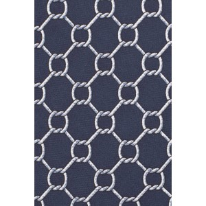 Counter Circal Blue 100% Silk Necktie