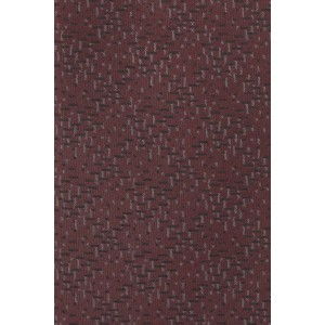 Deck The Halls Geo Maroon 100% Silk Necktie