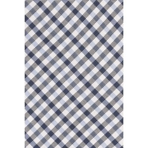 Corrigan Plaid Blue and Black 100% Silk Necktie