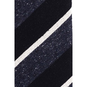 Derby Lane Black And Blue 100% Silk Necktie