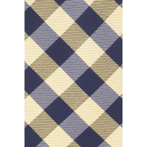 Old City Checks Yellow and Blue 100% Silk Necktie