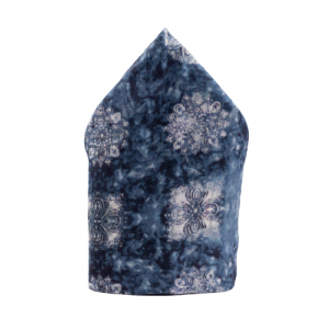 Icy Floral Pocket Square