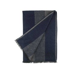 Apprentice Blue And Grey Reversible  Scarve by The Tie Hub