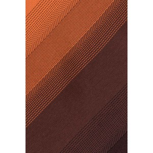 Gradient Orange Handmade Microfiber Necktie
