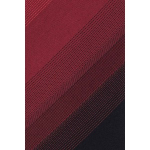 Gradient Red and Pink Handmade Microfiber Necktie
