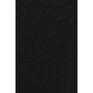 Solid Black Ultra Thin Microfiber Necktie