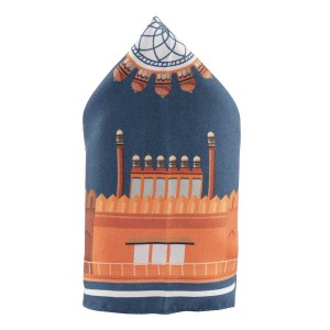 Fort of India 100% Silk Pocket Square