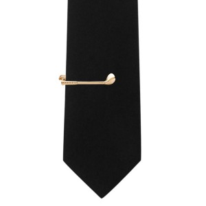 Driver's Golf Club Gold Tie bar