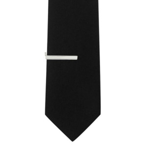 Executive Clasp Small Size Silver Tie Pin