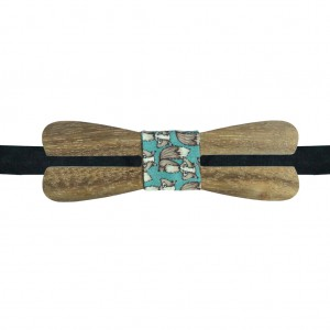 SPLITTER WOODEN BOW TIE
