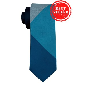 Solid Blue Silk Necktie