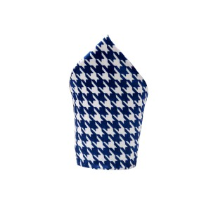 Intra Blue/White (Pocket Square)