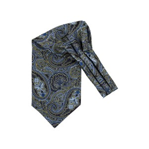 Empire Blue Paisley Cravat For Men By The Tie Hub