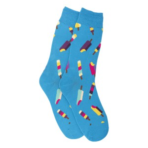 Lollies Blue Bright Socks
