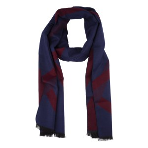Porter Blue and Maroon scarf