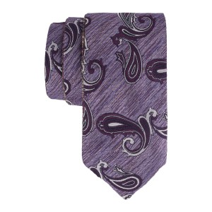Lavender with Pink Reversible 100% Microfiber Necktie