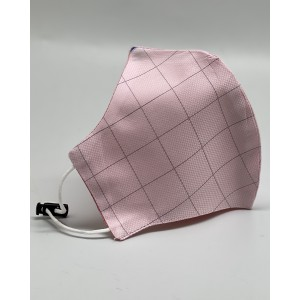 Pink 100% Premium Cotton Reusable Reversible Face Mask