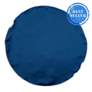 BLUE WITH WHITE BORDER  POCKET CIRCULAR