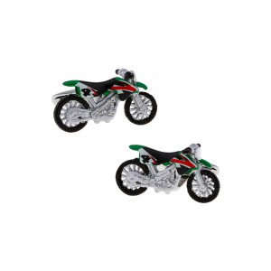 Green Dirt Bike Cufflink