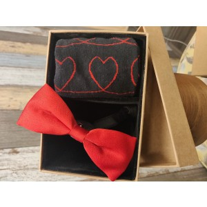 Bow Tie and Bright Socks Valentine Combo