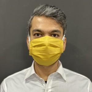 Solid Yellow Face Mask