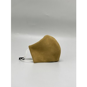 Yellow Suede Mask for Men