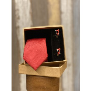 Necktie and Cufflinks Valentine Combo
