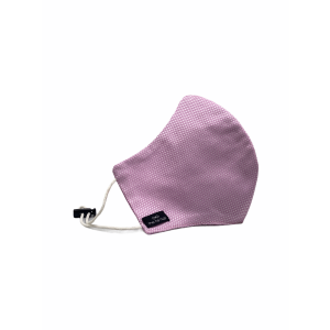 Pink Solid Premium Cotton Face Mask