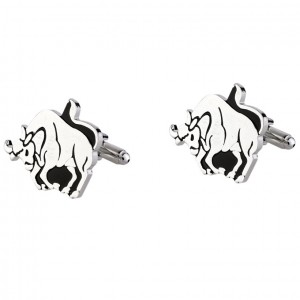 TAURUS ZODIAC SIGN CUFFLINKS
