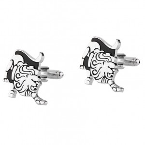 LEO ZODIAC SIGN CUFFLINKS
