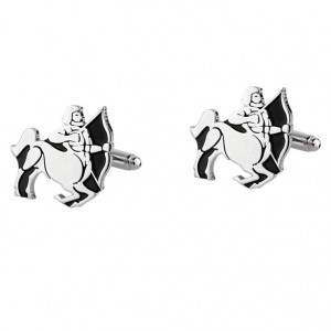 SAGITTARIUS ZODIAC SIGN CUFFLINKS