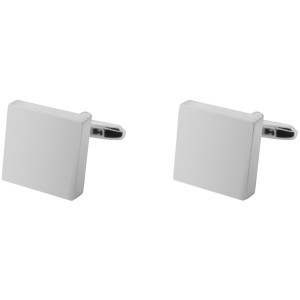 Parallel Plain Square pipe Brass Cufflink