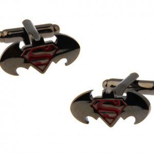 Gunmetal Super hero cufflinks