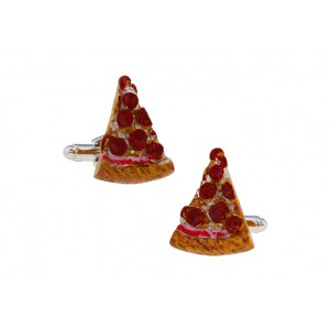Slice Pizza Cufflinks