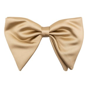 Gold Butterfly Bow Tie