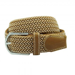 Braid - Brown/White (Belt)