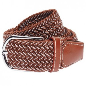 Braid - Brown/Coffee Elasticated Belt