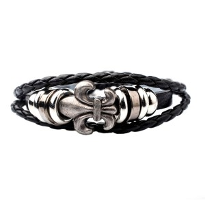 Moreal Black Stripe Wrist Band