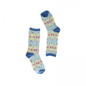 Porall Argyle - Light Grey (Bright Socks)