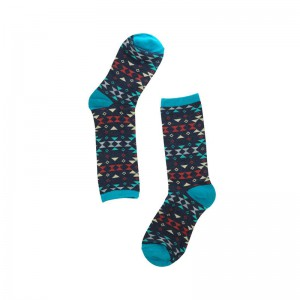 Porall Argyle - Teal (Bright Socks)