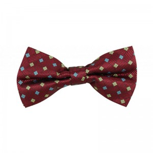 Euphorion Geo - Burgandy/Gold/Blue (Bow Ties)