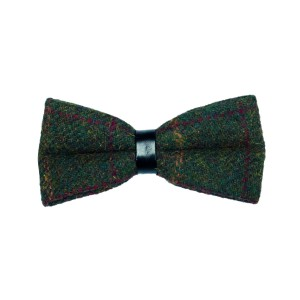 Presidential checekered bow tie