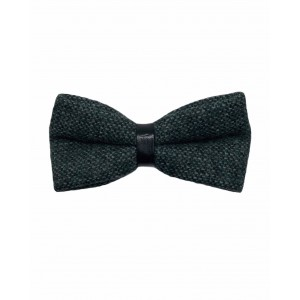 Dope Green Wool Bow Tie