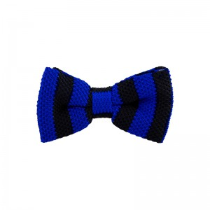 Neo Stripe - Black/Navy (Bow Tie)