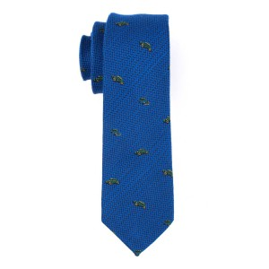 Taxi Blue Cashmere Necktie By The Tie Hub