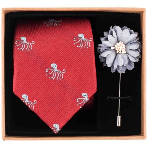 Octopus Necktie Combo Box by The Tie Hub