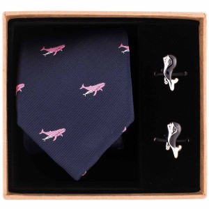 Whale Necktie Combo Box by The Tie Hub